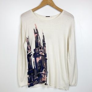 Disney Kingdom Couture Collection Castle Sweater
